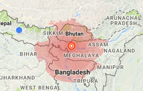 Earthquake jolts eastern Nepal