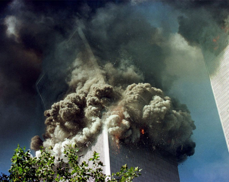 IN PICTURES: 9/11 Twin Towers attack