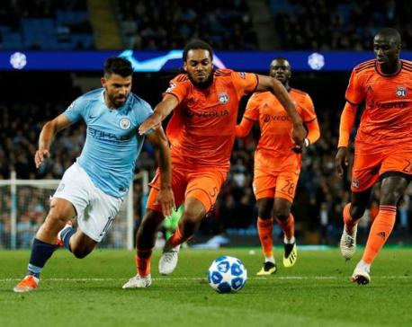Man City suffer surprise home loss to Lyon