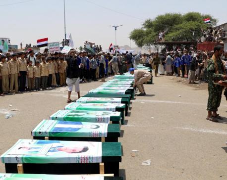Saudi-led coalition admits deadly Yemen strike on bus was unjustified