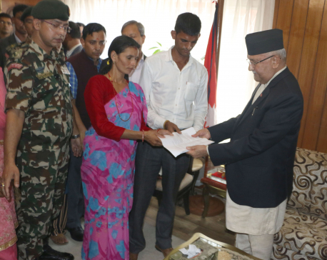 """Nirmala's mother to PM Oli: """"Will we get justice?"""""""
