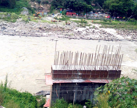 With bridge left incomplete, road linkage seems distant for Chepang villages