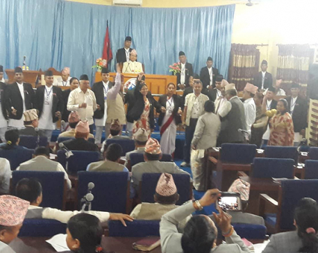 NC and RJPN lawmakers disrupt provincial meeting