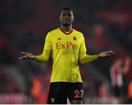 Watford's Kabasele has red card rescinded