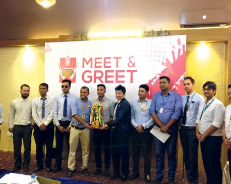 Kathmandu Kings XI Corporate Cup from Monday; Sompal Kami felicitated