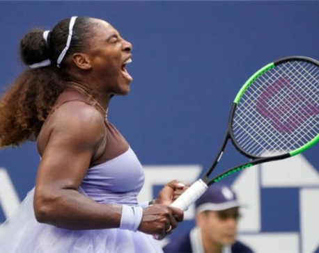 Serena survives scare from Kanepi to reach quarters