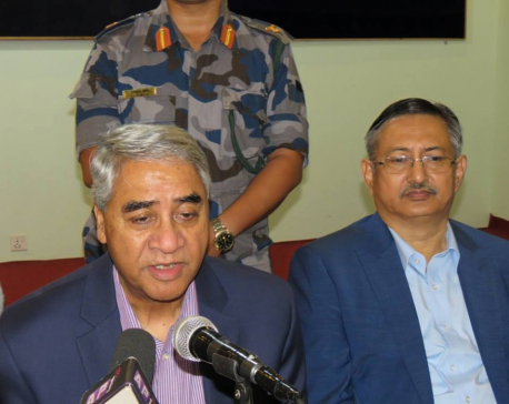 Deuba calls foul as govt fails to arrest Nirmala's culprits