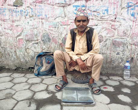 Souls of my city:  Roadside weighing scale attendant and more