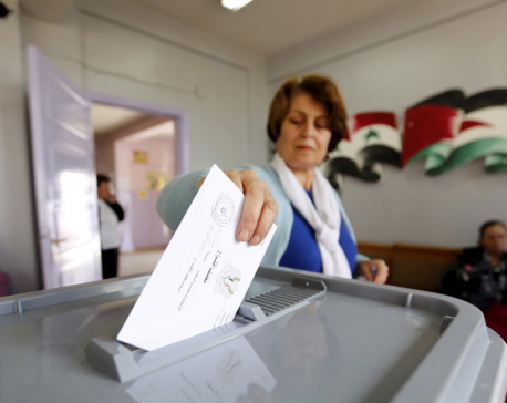 Syrians go to polls in 1st local elections for 7 years of war