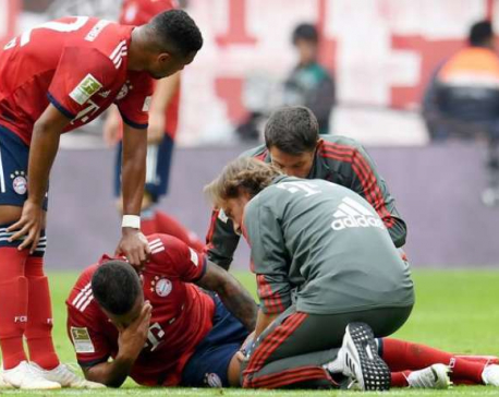 Bayern's Tolisso out for months, Rafinha also injured