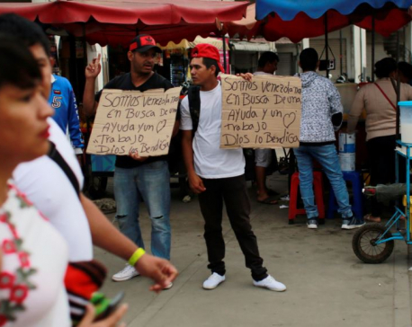 Venezuelan leaders say migration flows are 'normal'