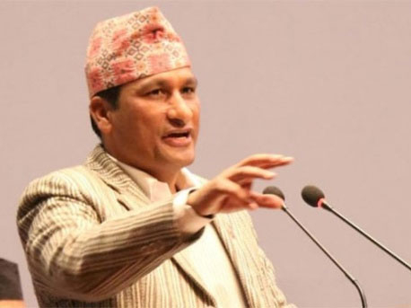 Alliance govt will turn into majority on April 22: Minister Basnet