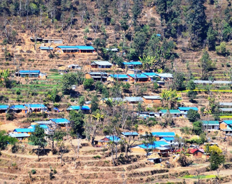 Quake-hit Sindhupalchowk getting new lease of life