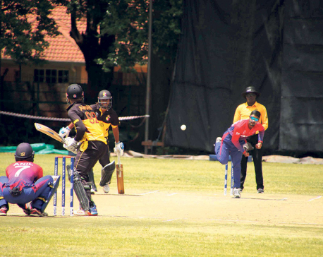 Airee leads Nepal to ODI status in playoff win against PNG