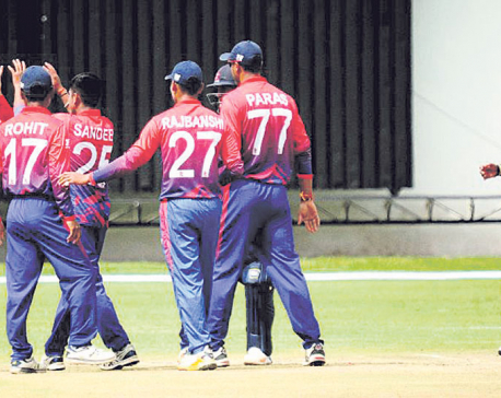 Nepal's bowling key against high-flying Scotland