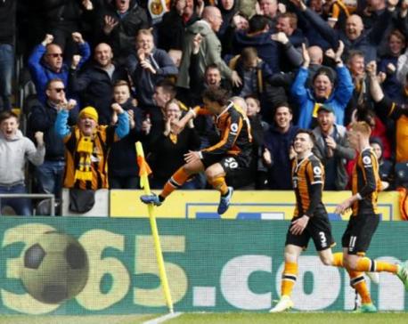 Hull, Swansea win to lift survival hopes, Boro sink deeper
