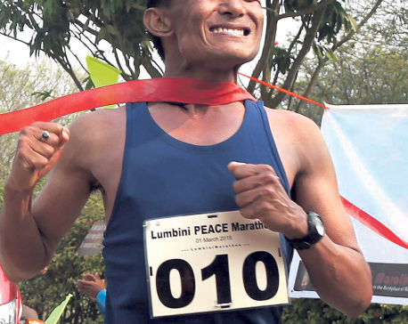 Army's Shrestha wins 4th Lumbini Peace Marathon