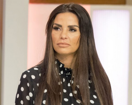 Katie Price reveals her new face for the first time after dramatic corrective surgery