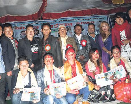 Tej Kumar becomes 'Khotang Idol'