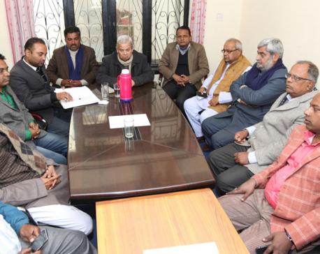 Meeting between PM Dahal and Madhes-based parties kicks off in Capital