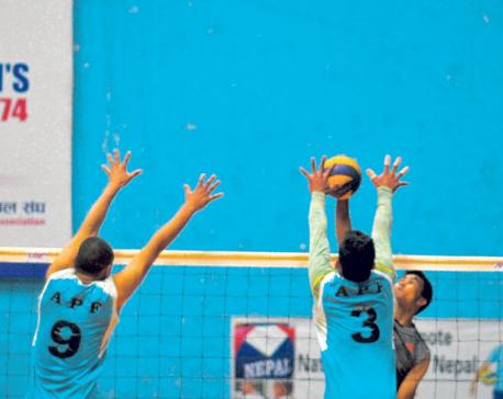 Departmental teams, Help Nepal into volleyball semis