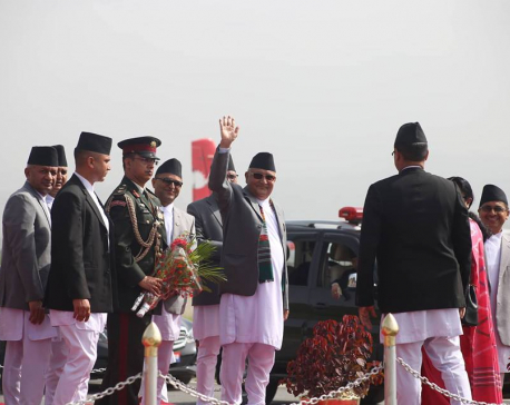 With 119 delegates, Oli off to China to deepen ties