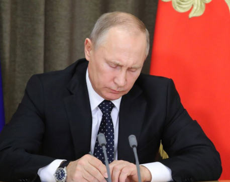 Putin signs US counter sanctions legislation
