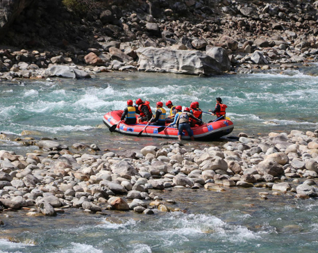 Rafting at Humla-Karnali (Photo feature)