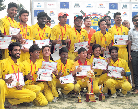 Shikshadeep lifts provincial inter-college cricket title