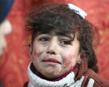 WITHER HUMANITY: SYRIA BLEEDS