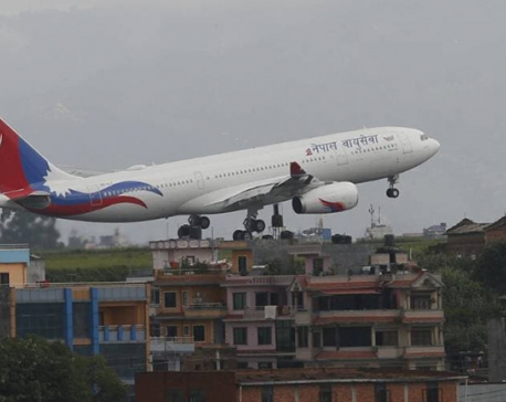 Another  NAC's wide body airbus lands at TIA