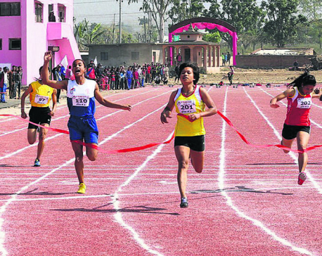 Chandrakala improves her own national record