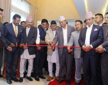 KP Sharma Oli inaugurates the Soaltee West End Premier Nepalgunj