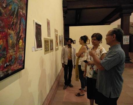 Nepali artists in Indonesia