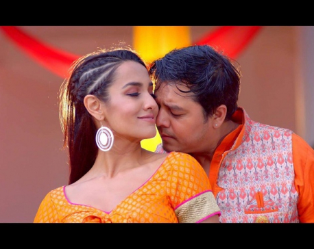 Priyanka and Dilip  together in 'Pashupati Ma Sun ko Gajur'