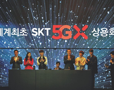 South Korean, U.S. telcos roll out 5G services early as race heats up