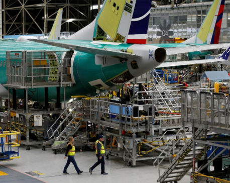 Boeing's 737 production cut hits its shares and those of suppliers