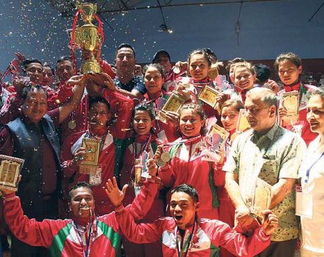 Army bags six golds to become fencing champion