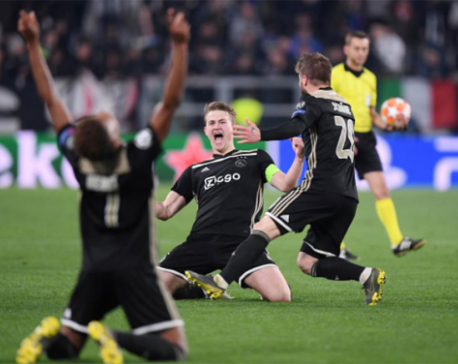 Ajax eliminate Ronaldo's Juve with scintillating display