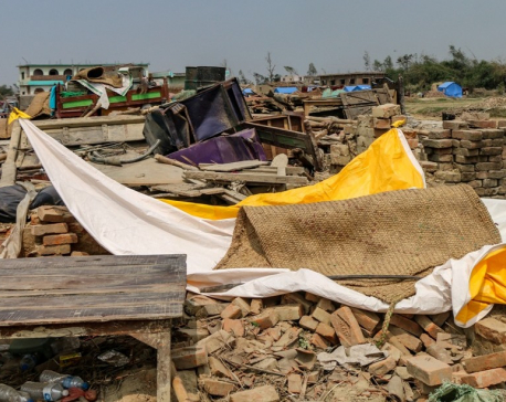 Heartbreaking photos from storm-hit Bara