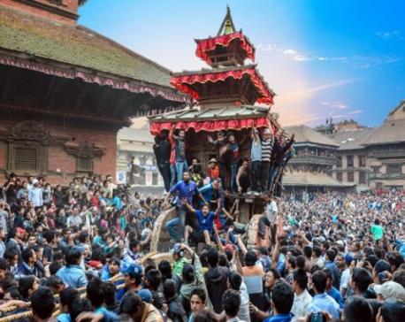 Bhaktapur's Bisket Jatra begins today
