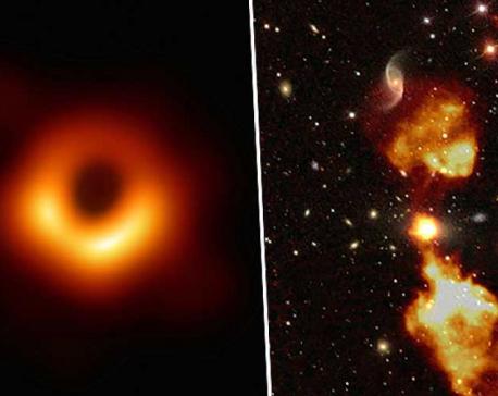 Remarkable image of black hole released in astrophysics breakthrough