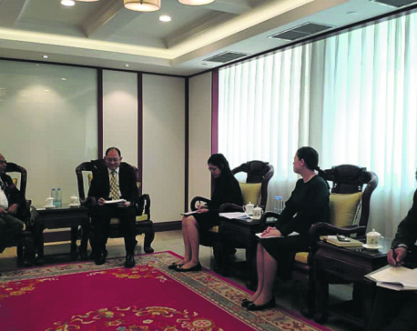 CNI chair visits China