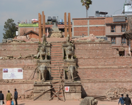Bhaktapur's historical heritage sites stand tall