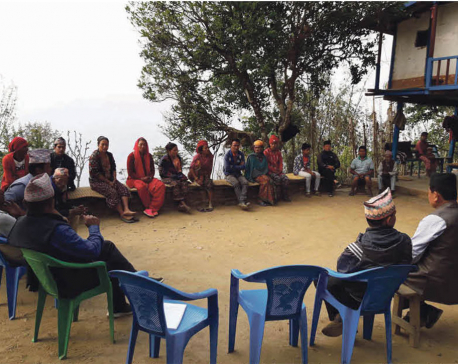 Door-to-door campaign in Khotang students' admission
