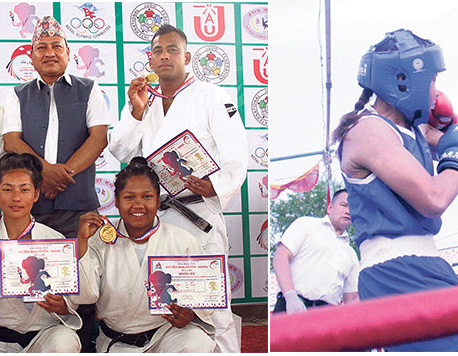 Police bags seven gold medals to top judo medal chart