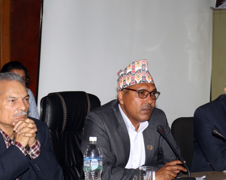 Former PM Bhattarai terms country's budget allocation system as haphazard