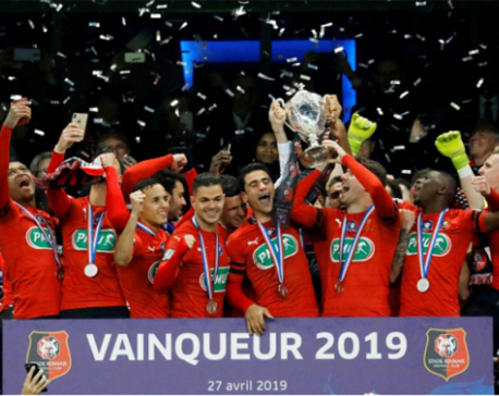Rennes stun PSG to win French Cup on penalties