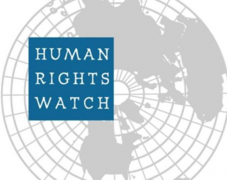 Human Rights Watch urges govt to stop  prosecuting journalists, social media users in Nepal