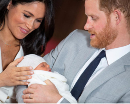 Royal baby Archie: Prince Harry and Meghan name their 'bundle of joy'